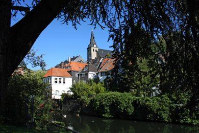 Blick in die Kettwiger Altstadt